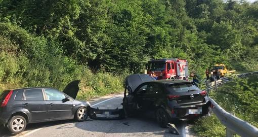 La scena dell'incidente di ieri, giovedì 29 luglio