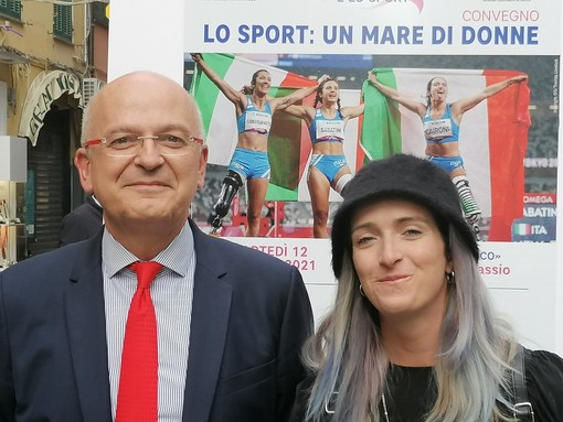 Carlo Bresciano e Martina Caironi