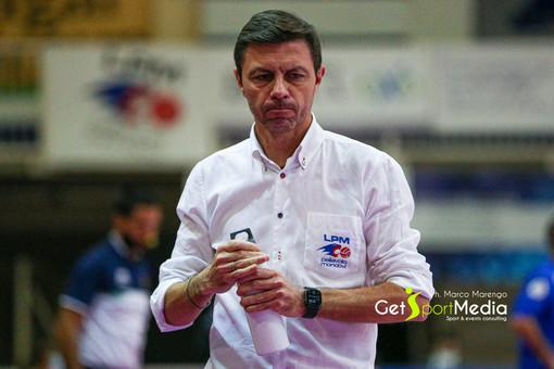 Il tecnico Davide Delmati (foto Marco Marengo)