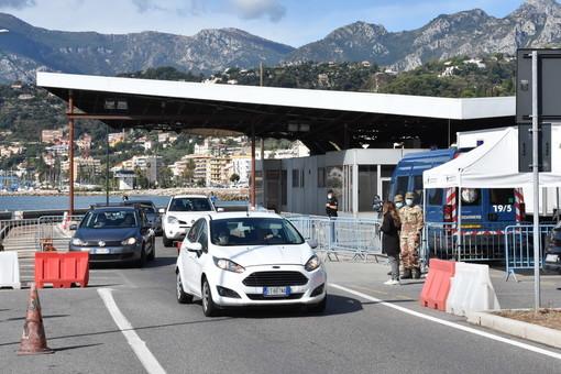 Menton, frontiera italo - francese