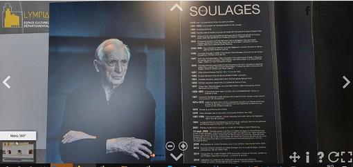 Soulages, la mostra in tour virtuale. Un modo diverso per dire che ci sono stato!
