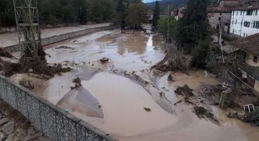 Nucetto visto dall'alto a una settimana dall'alluvione (VIDEO)