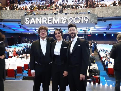 Festival 2019: tris cuneese nell'orchestra dell'Ariston