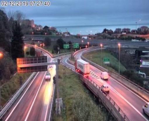 Viabilità, riaperta questa mattina l'autostrada A6 Torino-Savona