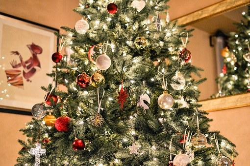 Albero Di Natale Con Foto Amici.Decorare La Casa E L Albero Con Le Luci Di Natale Targatocn It