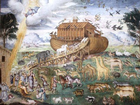 Spazio culturale piemontese, il Diluvio universale incontro online