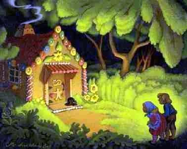 Quando da bambina mi raccontavano la fiaba di h nsel e for Tegole del tetto della casetta