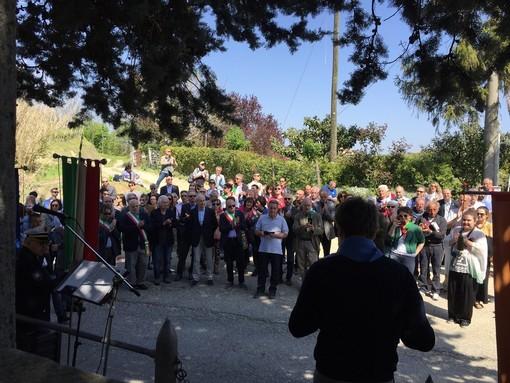 Il raduno partigiano di frazione Valdivilla a Santo Stefano Belbo