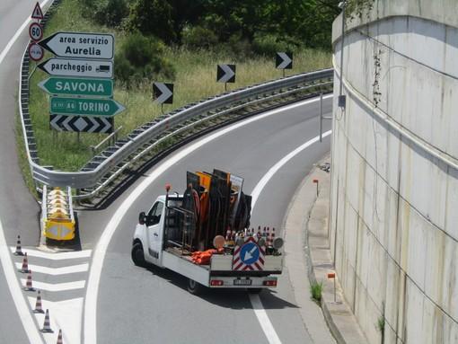 A6, tamponamento tra Savona e Altare direzione Torino: viabilità in tilt (Autostrada chiusa)