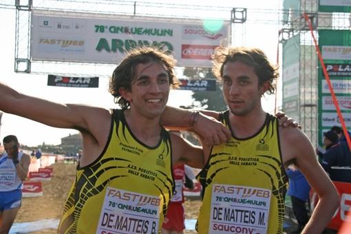 Cecy for Runners: i gemelli Dematteis a Revello corrono per il Nepal