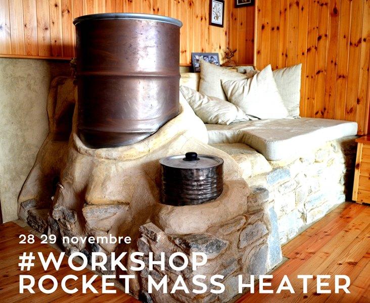 Cuneo come costruire una stufa rocket mass heater in for Stufa rocket