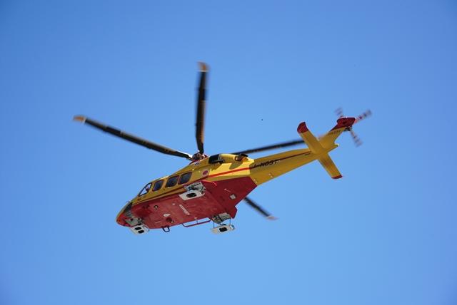 Elicottero 118 Modello : Farigliano e canale d alba doppio intervento dell