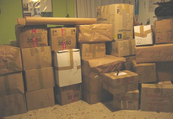 Da mesi non consegnava la posta trovati nell 39 abitazione - Come organizzare un trasloco di casa ...
