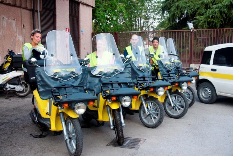 Nuovi motomezzi per i postini della provincia di cuneo for Recapito postale