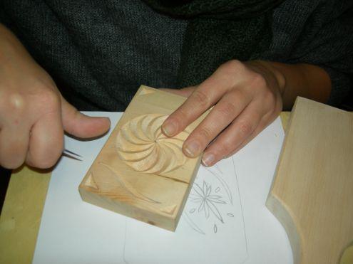 Corso intaglio legno