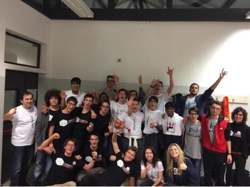 Studenti dell'Itis Delpozzo alla nazionale della NAO Challenge 2019, competizione di robotica umanoide
