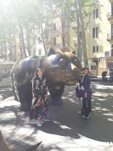 Anche sulla Rambla di Barcellona si legge Targatocn... e voi?