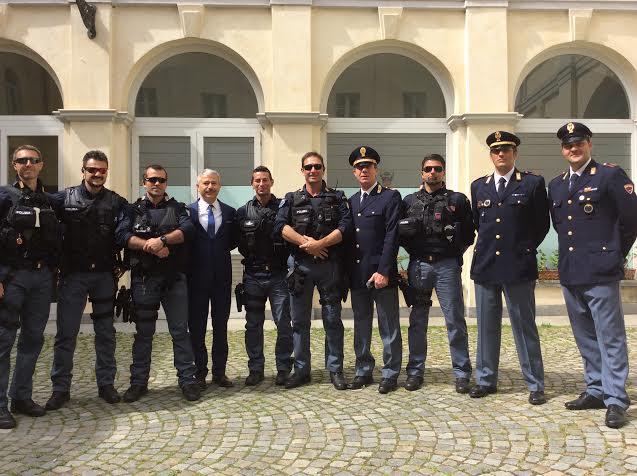 Cuneo, la Polizia di Stato festeggia i 164 anni dalla fondazione e ...