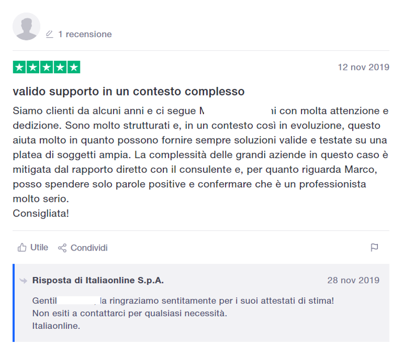 recensione italiaonline