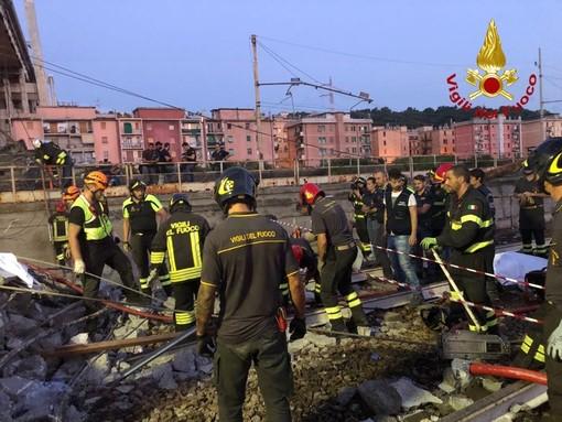 """Il comandante dei vigili del fuoco della Granda: """"Nessuno poteva crederci, poi abbiamo realizzato la gravità di quello che era successo a Genova"""""""