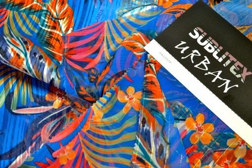 """""""Urban"""", nuova collezione di tessuti in poliestere stampati attraverso processi sublimatici, dedicata al mondo del fashion e dell'""""active wear"""""""