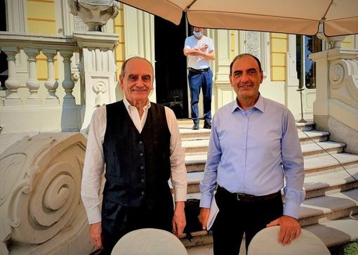 Sandro Gros Pietro insieme a Eros Pessina