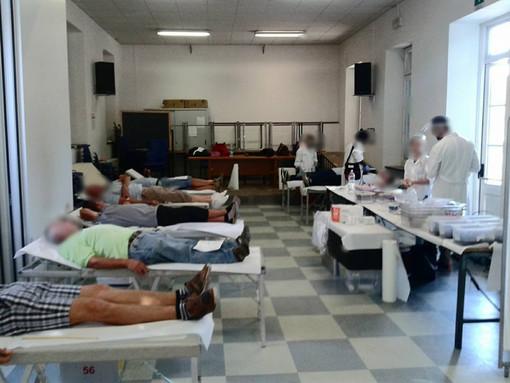 A Cardè donazione di sangue presso il salone parrocchiale