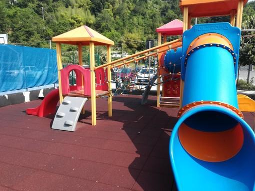 A Peveragno riaprono i parchi giochi