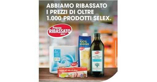 MERCATO' difende il potere di spesa delle famiglie: ribassati i prezzi su oltre 1.000 prodotti a marchio SELEX