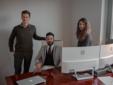 Guido Balbis, Andrea Losano e Anastasia Carlino, proprietari di Alternative ADV e ideatori della piattaforma Whatshome