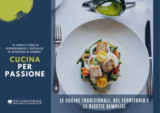 """Iscriviti al corso """"Cucina per passione"""""""