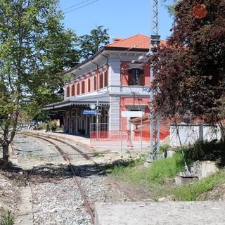 Uno scorcio della stazione di Mondovì