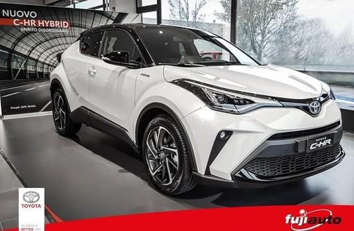 Toyota Fuji Auto presenta il nuovo C-HR HYBRID