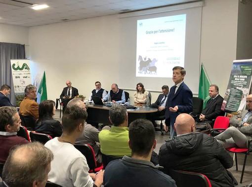 Un momento del convegno sulla carne bovina di Razza Piemontese organizzato dalla Cia-Agricoltori Italiani di Cuneo