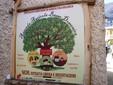 L'insegna dell'Agricola Basso nella sede di Prea