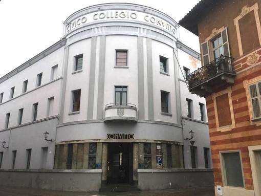 La sede dell'Asl Cn2, nell'ex convitto albese