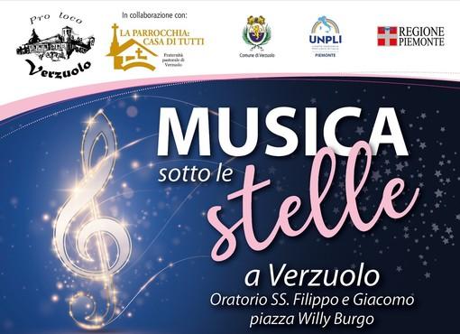 """""""Musica sotto le Stelle"""" a Verzuolo"""