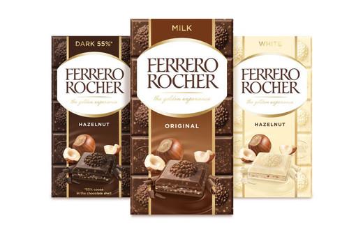Tavolette Rocher: Ferrero guarda a un mercato da mezzo miliardo di euro
