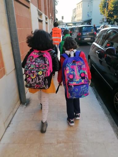 Bra: fin dal primo giorno a scuola con il Pedibus