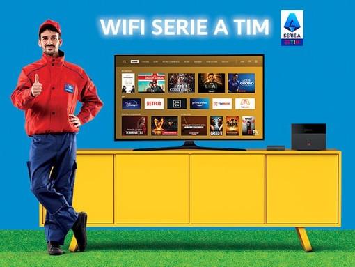 Tutta la Serie A e la Serie B, grazie al nuovo TIM VISION BOX