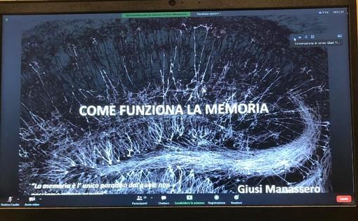 """""""Come funziona la memoria"""", incontro con Giusi Manassero al liceo Bodoni di Saluzzo"""