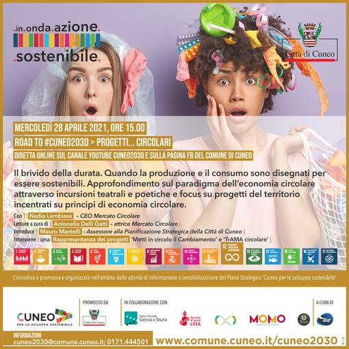 """Road to #Cuneo2030: tutto pronto per """"in.onda.azione.sostenibile"""""""