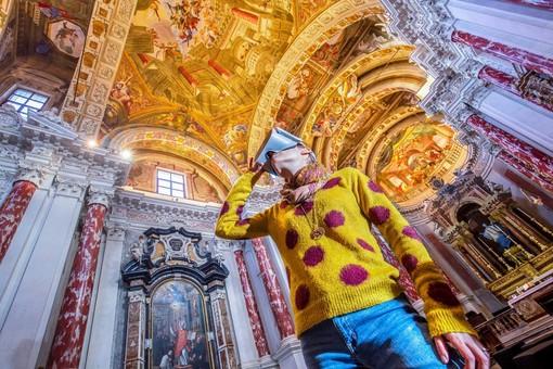 """La visita immersiva """"Infinitum"""" aperta durante la Mostra dell'Artigianato Artistico 2020 di Mondovì"""