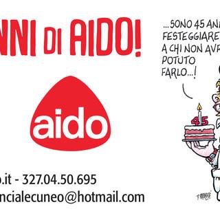 Cuneo festeggia i 45 anni dell'AIDO