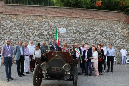 """A Vicoforte inaugurato """"Largo Fratelli Ceirano"""". Al via il week-end con le """"Vecchie signore"""" (FOTO)"""