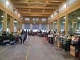 Il mercato  di piazza Seminario ai tempi del coronavirus (Foto del Comune di Cuneo)