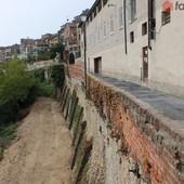 Il tratto di via Marchese d'Ormea riaperto al traffico