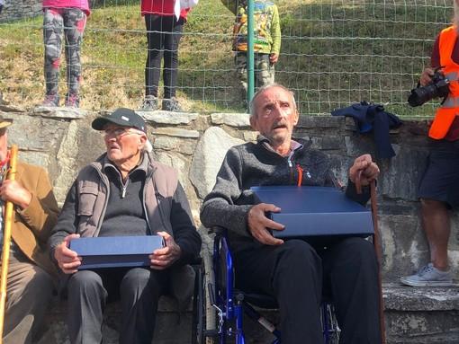 Caluma el vache: Confagricoltura premia due malgari storici della Valle Maira