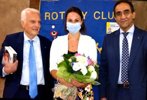 Rotary Club Savigliano: passaggio di consegne tra il presidente uscente Zoni e il nuovo presidente Giovanni Battista Testa