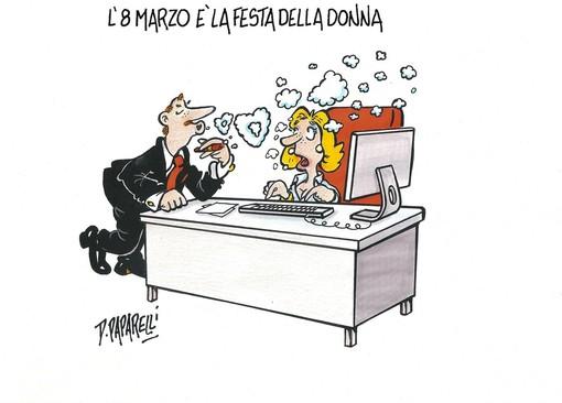 Oggi è la festa della Donna... auguri a tutte Voi, con l'ironia di Danilo Paparelli